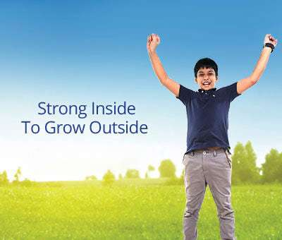 Strong Inside Grow Outside Mobile Banner